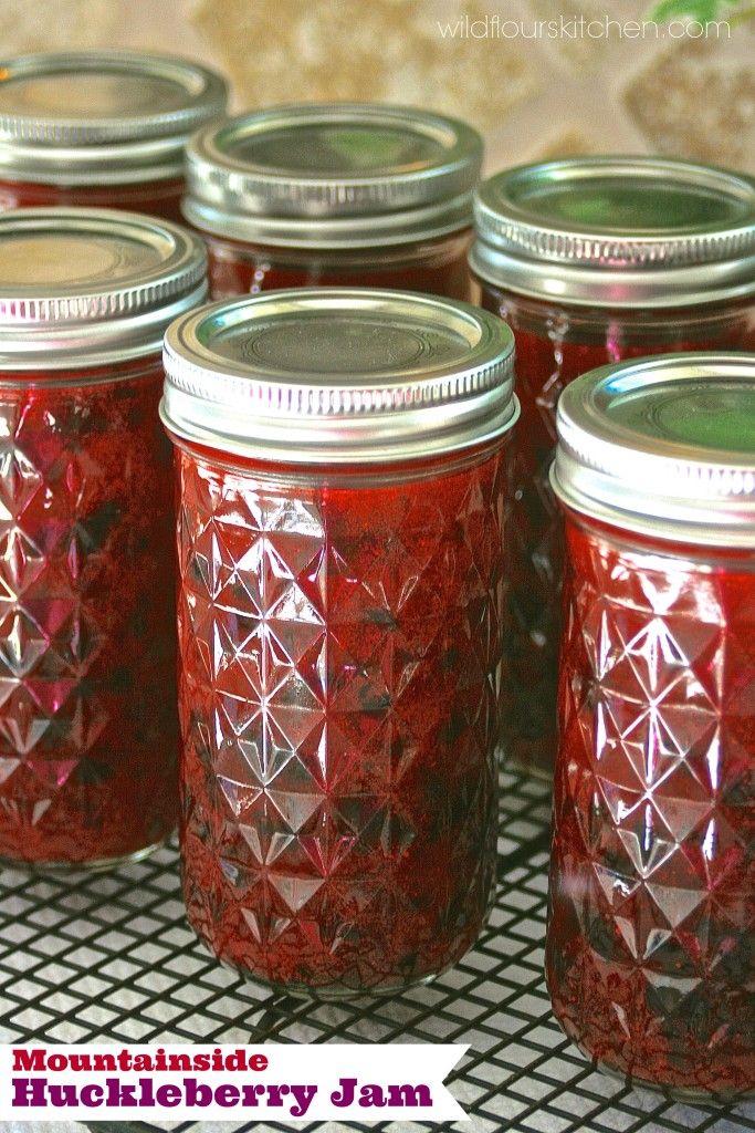Mountainside Huckleberry Jam