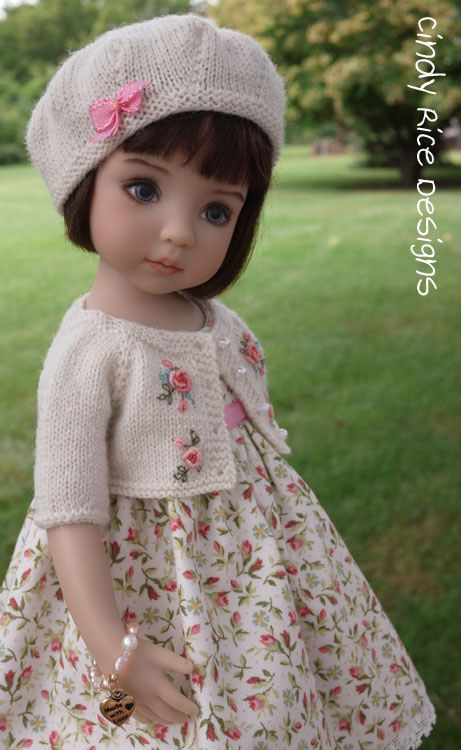 Cindy Rice clothes for Little Darlings dolls
