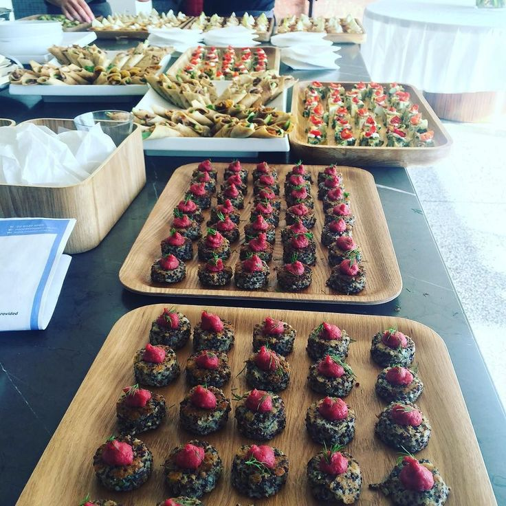 We're ready! #afternoontea #canapes #figmintcatering #sydneycatering #yum