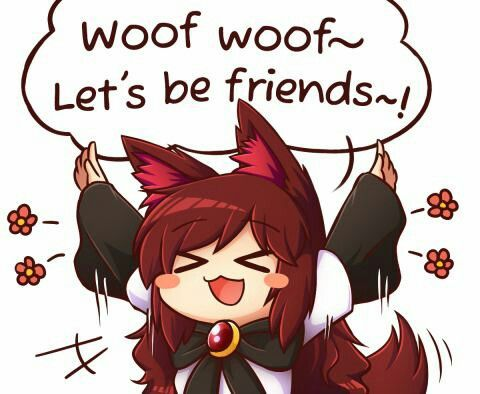 wolf chibi cute anime