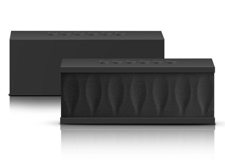 Bluetooth Speakers 3.0 Black Ultra-Portable Sleek/Fashionable Design Best Wireless Bluetooth Speakers with Built in Speakerphone Rechargeable Battery: Black Rhino