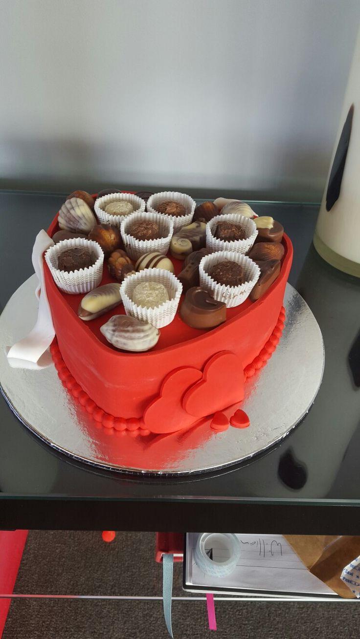 Valentines Day Chocolate Box Cake #1