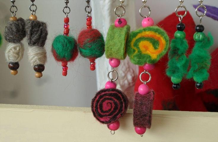 Aros en Fieltro de lana