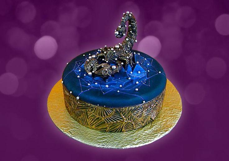 С стрелец торт знаком зодиака
