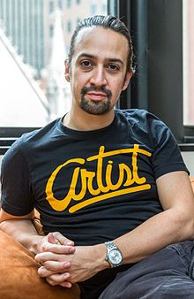 Lin-Manuel Miranda (born January 16, 1980) is a Puerto Rican actor, composer, rapper and writer, best known for creating and starring in the Broadway musicals Hamilton and In the Heights.