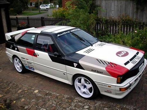 Audi Ur Quattro Coupe Rally Tribute
