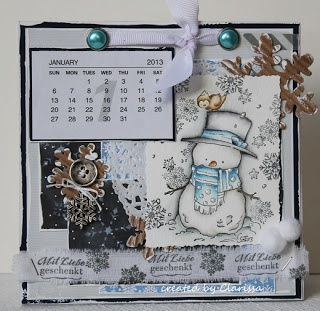 Whiff of Joy - Tutorials & Inspiration: Calendar-Line-Up Tutorial