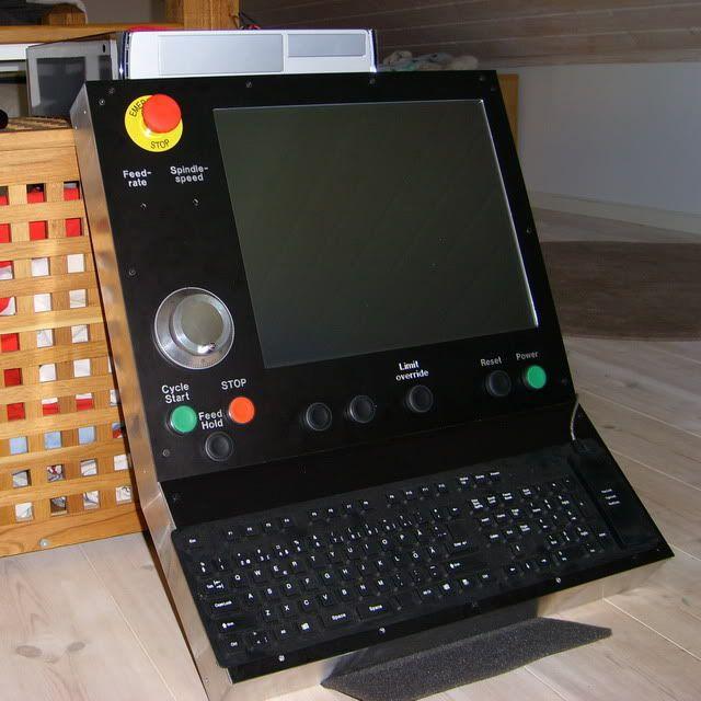 DIY CNC Control Panel