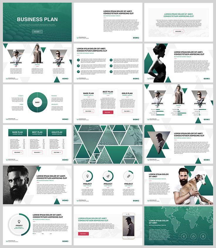 Business plan free powerpoint keynote template