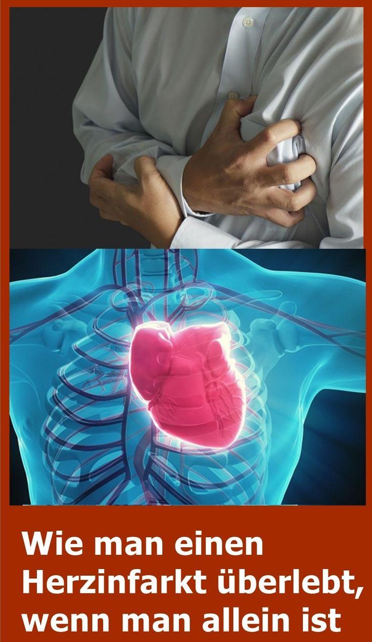 Wie man einen Herzinfarkt überlebt, wenn man allein ist | isfurano!