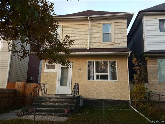 Main Photo: 585 Redwood Avenue in Winnipeg: Residential for sale (4A)  : MLS® # 1726815