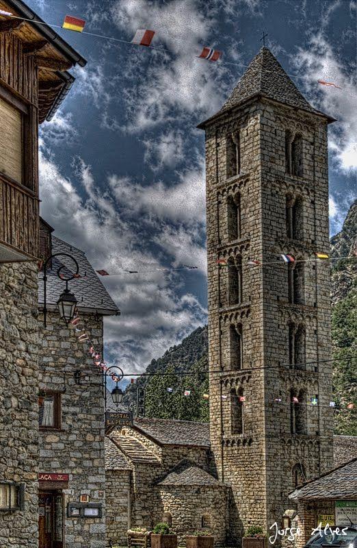 Santa Eulalia,  Erill la Vall, Lleida