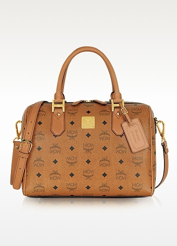 MCM Heritage - Medium Boston Bag
