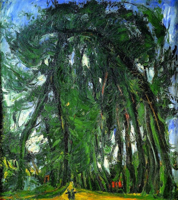 bofransson: Alley of Trees Chaim Soutine