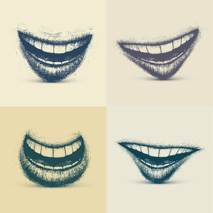 How To Draw Teeth | www.drawing-made-easy.com | #teeth #drawing