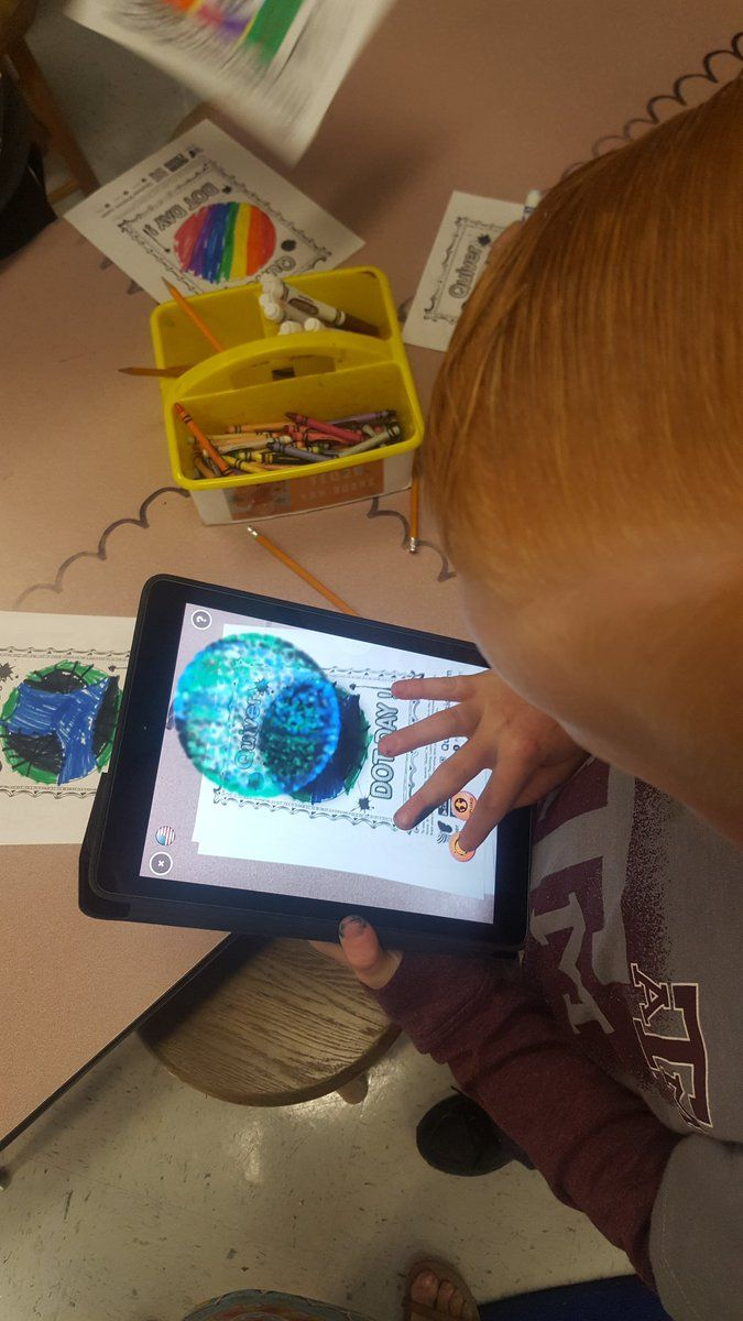 "Teri Clark on Twitter: ""Having an art celebration today...making our art go 3D with the quiver app on ipads!! @Bowen_Bobcats @BryanISDSup @FineArts_BISD https://t.co/TJV8ccC5We"""