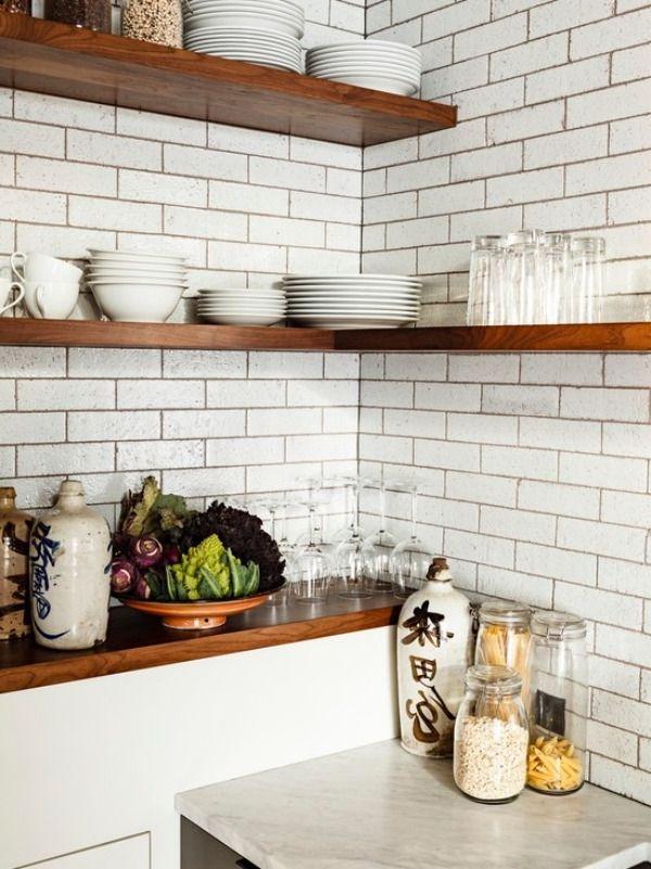 die 25+ besten eckregale küche ideen auf pinterest | schwebende ... - Eckregale Küche