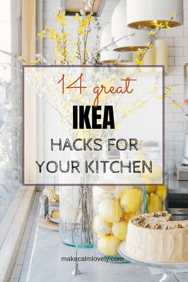 IKEA hacks for your kitchen. Easy DIY hacks for your kitchen using IKEA
