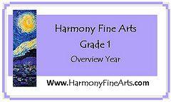 Overview of art and music appreciation for Grade 1: Renoir, Manet, Cassatt, Cezanne, Van Gogh, Degas, Klee, and Pissarro. Free sample.