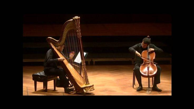 Ciprian Porumbescu, Balada , cello and harp