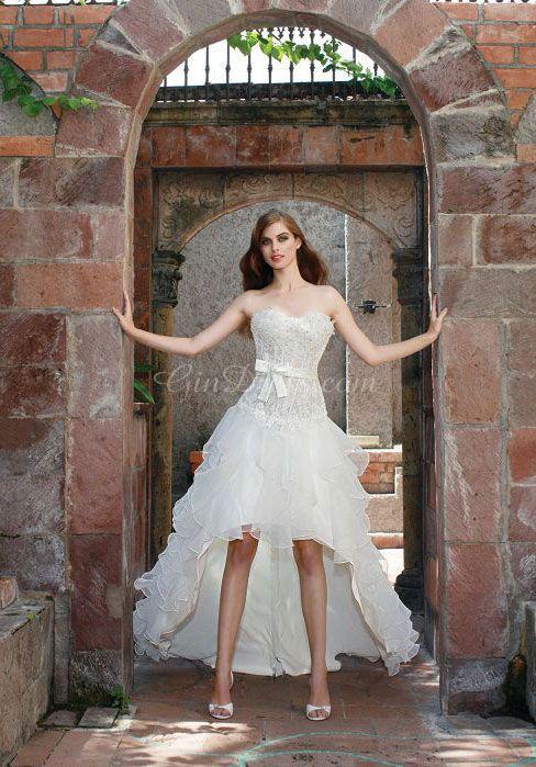 Summer beach wedding dress