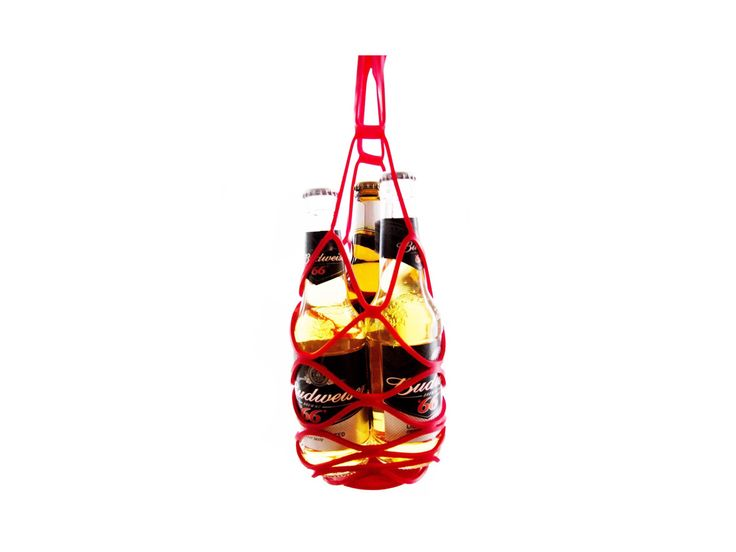 Carry your drinks bottles in style with the silicone bottle carrier