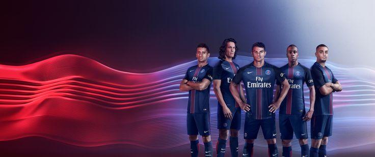Nike's campain for the new Paris Saint-Germain jersey 16/17