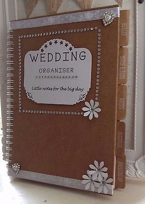 handmade wedding organiser
