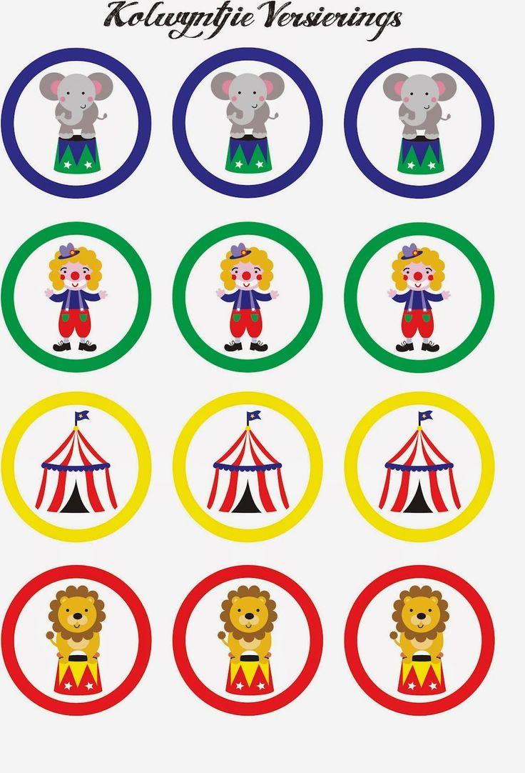 Mini Kit del Circo para Imprimir Gratis. | Ideas y material gratis para fiestas y celebraciones Oh My Fiesta!