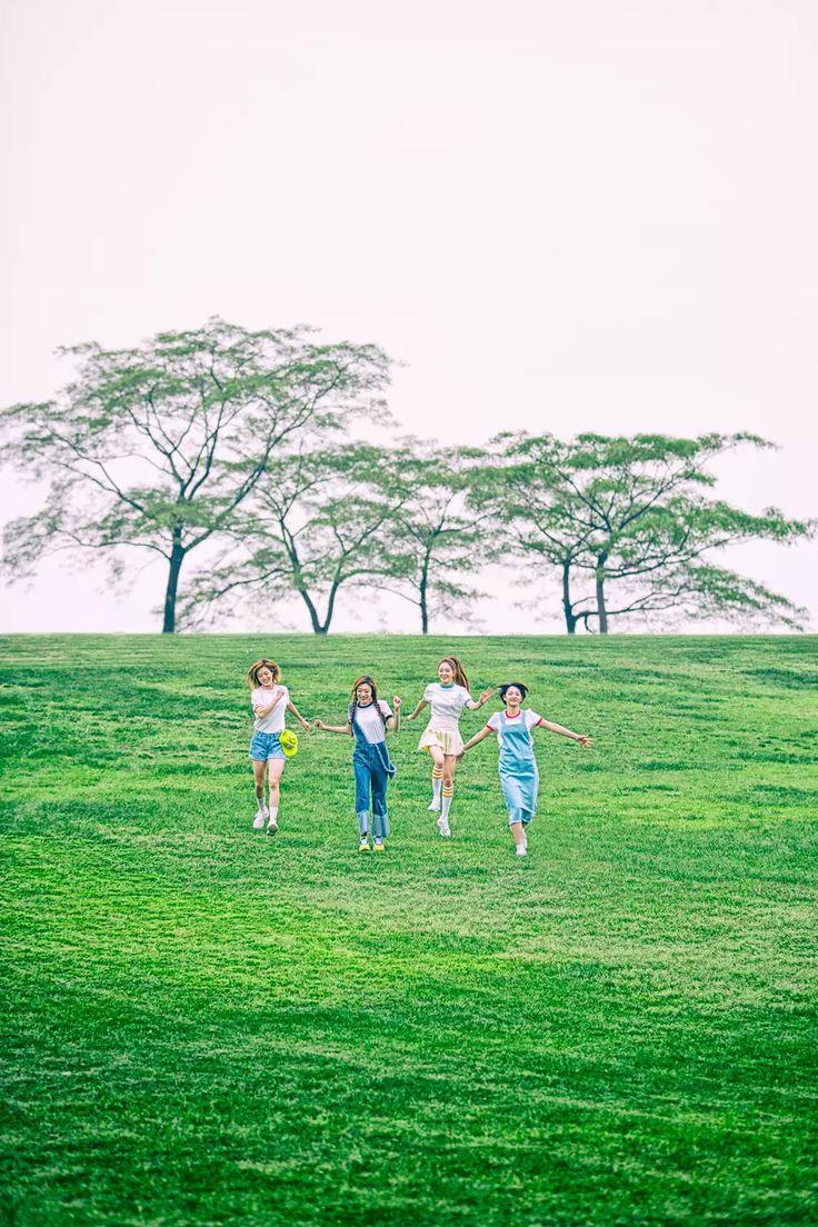 [L-to-R] D.Ana ; Sumin ; Nahyun ; Newsun