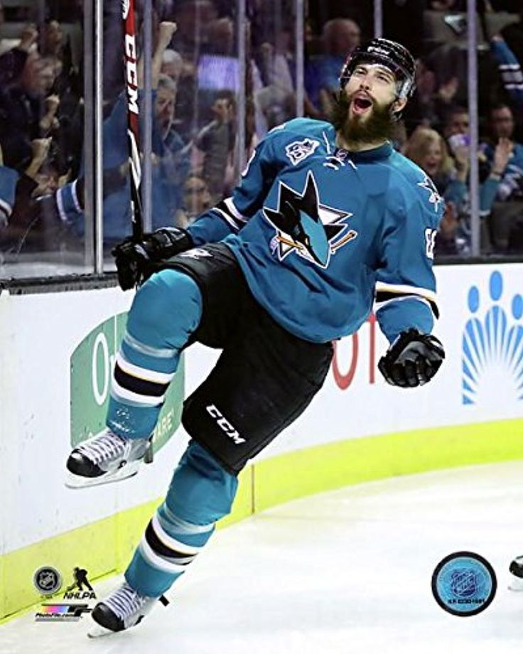 "Brent Burns San Jose Sharks 2015-2016 NHL Action Photo (Size: 11"" x 14"") -- Awesome products selected by Anna Churchill"
