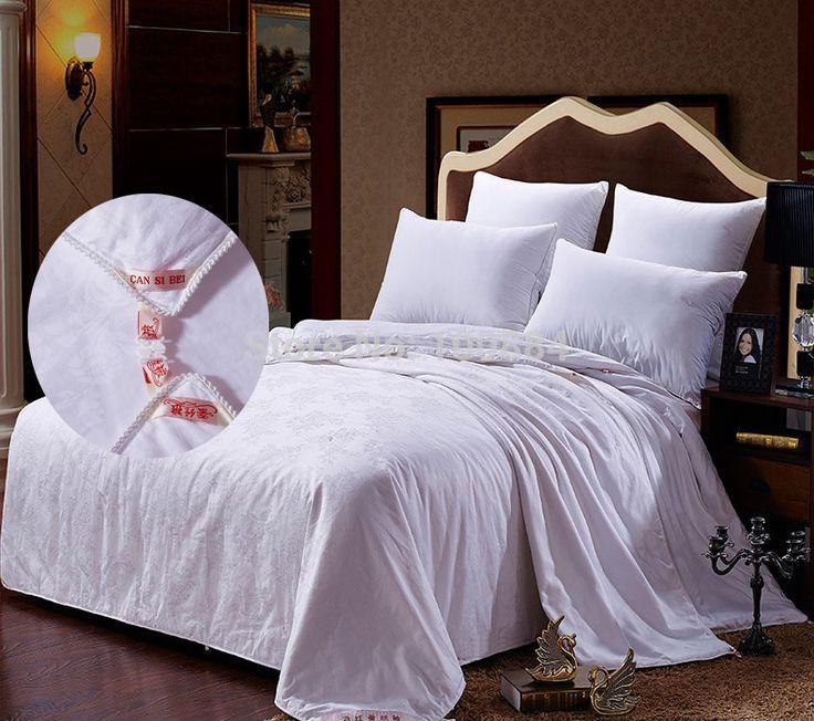 Королева размер 200*230 см шелковые постельные наборы, мать и сын утешитель, 2 в 1 одеяло 4 кг шелковые одеяла постельные принадлежности, doulbe шелковые одеяла