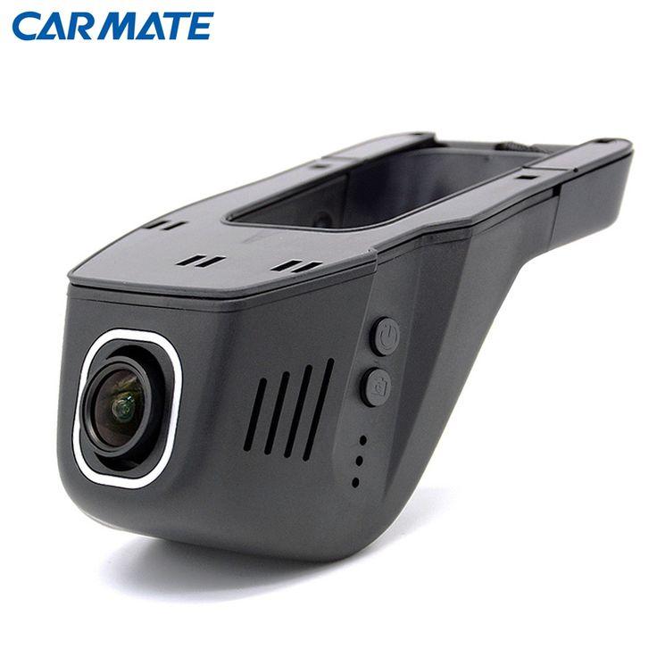 Cámara del coche DVR Grabador de Vídeo Inalámbrico WiFi APP Manipulación Completa HD 1080 p Novatek 96655 IMX 322 Dash Cam Registrator Negro caja