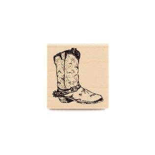 Old Boot Rubber Stamp