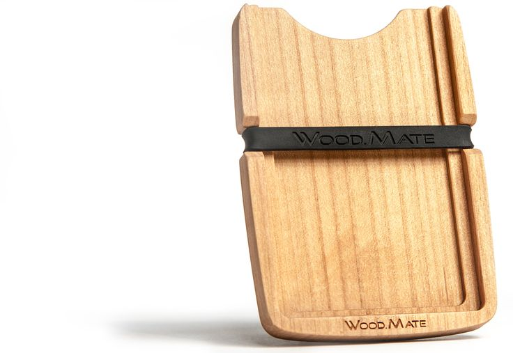 Kreditkarten Portemonnaie Wood.Mate
