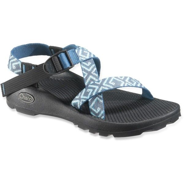Chaco Z/1 Unaweep Sandals ($105) ❤ liked on Polyvore featuring shoes, sandals, chaco, chacos shoes, sporting shoes, sports shoes, sports sandals and open toe sandals