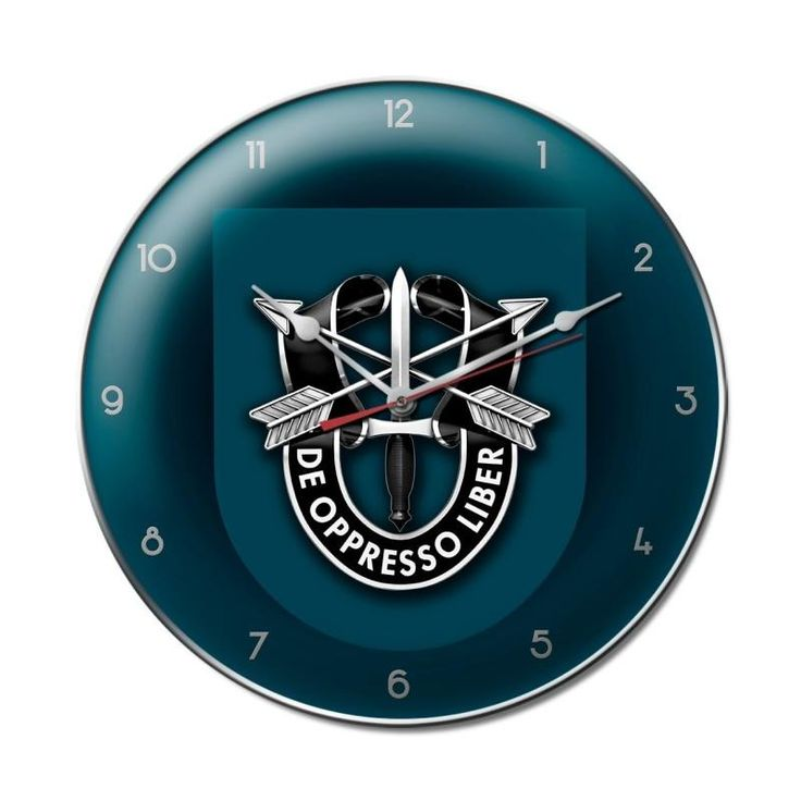 19th Special Forces Group Clock