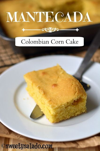 Mantecada Colombian Corn Cake