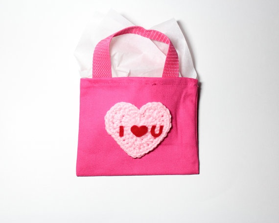Plastic bags for gifts - Mystery Gift Bag Surprise Treat Bag Mini Canvas Tote Bag