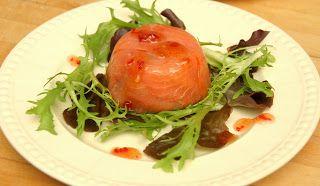 Marias Salt og Søtt: Forrett med røkelaks og avocado (Smoked salmon &…