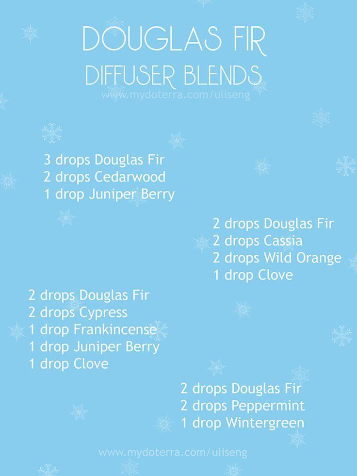 Douglas fir, cedarwood, juniper berry, cassia, Orange, clove, cypress, frankincense, peppermint, wintergreen. 1 *** 2 ***