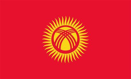 Kirgizistans flagga, flaggor