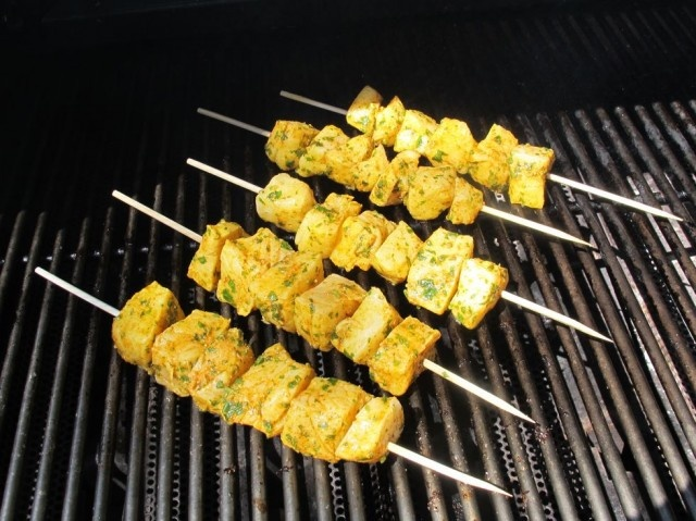 Skewers, Fish and Sauces on Pinterest