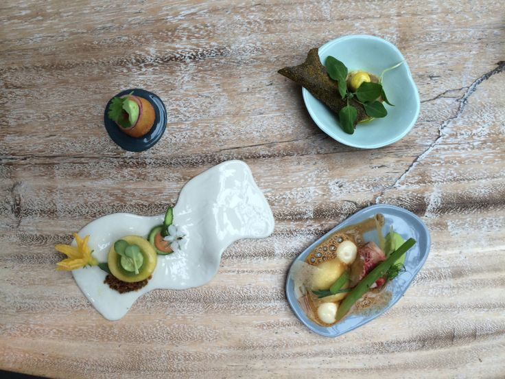 plates by Studio de Jonge for Pure C restaurant Cadzand