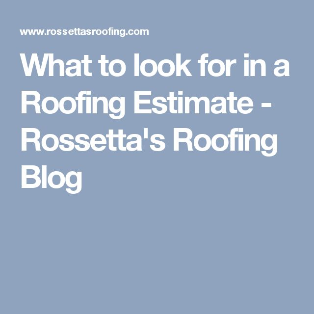 Best 25+ Roofing Estimate Ideas On Pinterest | Roof Repair, House