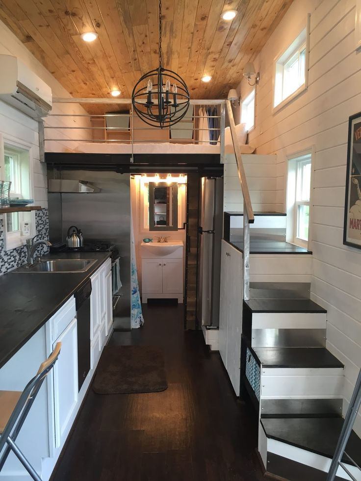 280 Sq Ft Tiny Home In Tennessee