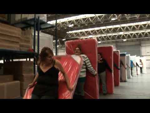 """Today is """"Have Fun at Work"""" day -- the workers in this video look like they are having about as much fun as you can have on the job!"""