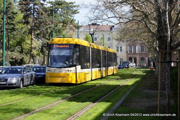 101 Szeged Széchenyi tér 20.04.2012 - Pesa 120Nb