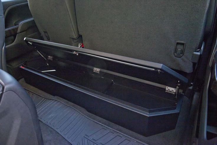 2016 Chevy Silverado 1500 Under Seat Storage