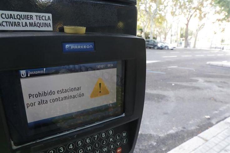 Madrid activa este sábado el Escenario 2 por contaminación y prohíbe aparcar en centro